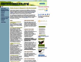 oaresciences.org screenshot