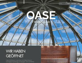 oase-weserpark.de screenshot