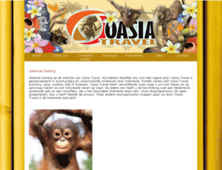 oasiatravel.com screenshot