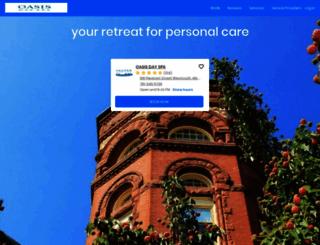 oasis.salonultimate.com screenshot