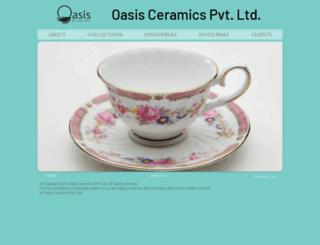 oasisceramics.com screenshot
