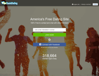 oasisdating.com screenshot