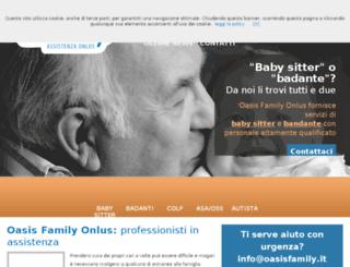 oasisfamily.it screenshot