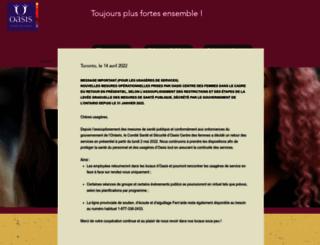 oasisfemmes.org screenshot