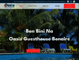 oasisguesthousebonaire.com screenshot