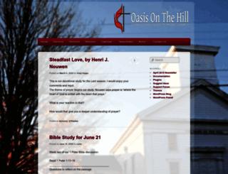oasisonthehill.org screenshot
