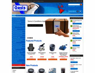 oasispoolproducts.co.uk screenshot