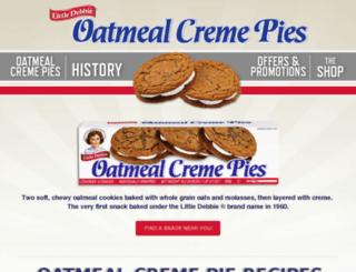 oatmealcremepies.com screenshot