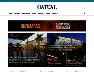 oatual.com.br screenshot