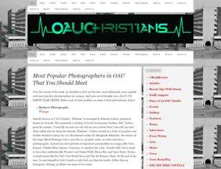 oauchristians.wordpress.com screenshot