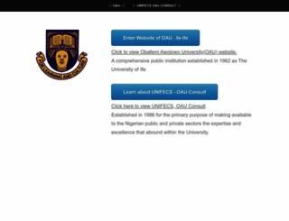 oauife.org screenshot