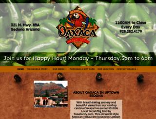 oaxacarestaurant.com screenshot