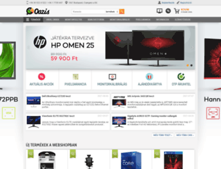 oaziscomputer.hu screenshot