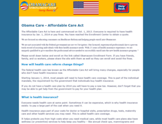 obama-care.us screenshot