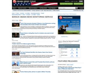 obama.einnews.com screenshot