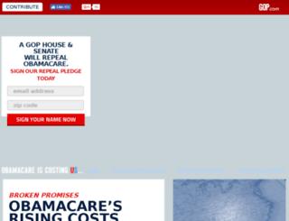 obamacosts.gop.com screenshot