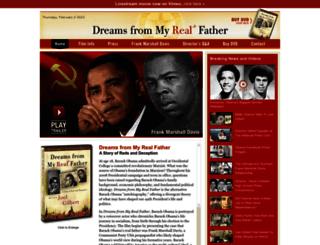obamasrealfather.com screenshot