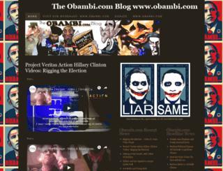 obambi.wordpress.com screenshot