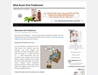 obatasamurattradisional28.wordpress.com screenshot