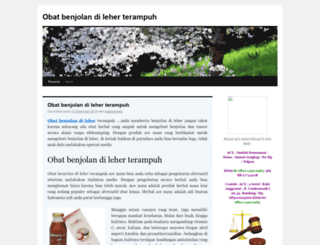 obatbenjolandileherterampuh.wordpress.com screenshot