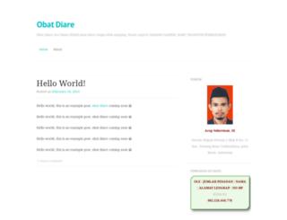 obatdiare101.wordpress.com screenshot