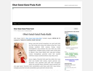 obatgatalgatalpadakulit.wordpress.com screenshot