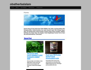 obatherbalalam.com screenshot