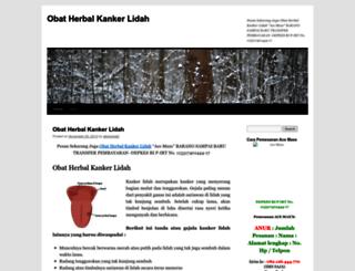 obatherbalkankerlidah123.wordpress.com screenshot