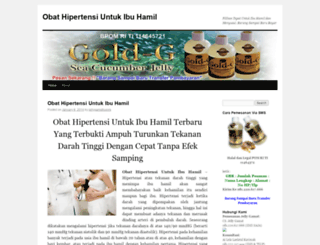 obathipertensiuntukibuhamil.wordpress.com screenshot