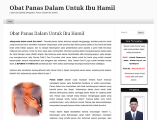 obatipanasdalamuntukibuhamil.wordpress.com screenshot