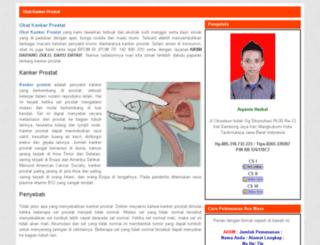 obatkankerprostat45.blogspot.com screenshot