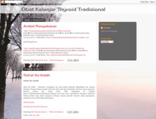 obatkelenjarthyroidtradisional.blogspot.com screenshot
