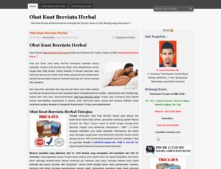 obatkuatbercintaherbal430.wordpress.com screenshot