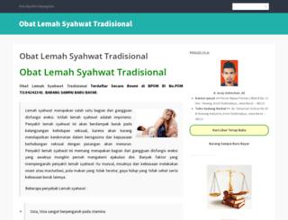 obatlemahsyahwattradisionall.wordpress.com screenshot
