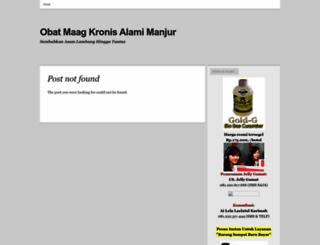 obatmaagkronisalamimanjur.wordpress.com screenshot