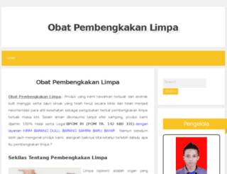 obatpembengkakanlimpa.blogspot.com screenshot