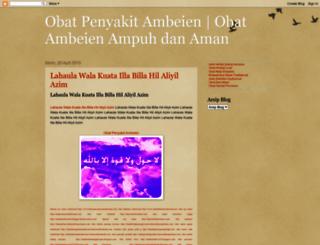 obatpenyakitambeienalami93.blogspot.com screenshot