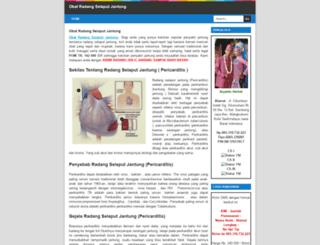 obatradangselaputjantung.blogspot.com screenshot