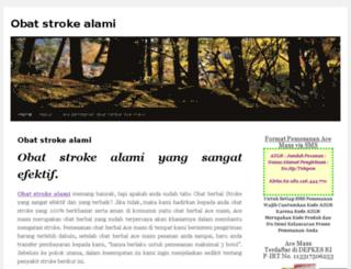 obatstrokealamie.wordpress.com screenshot