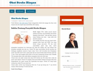 obatstrokeringan12.wordpress.com screenshot