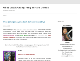 obatuntukorangyangterlalugemuk.wordpress.co screenshot