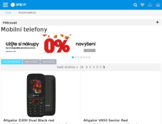 obchod.nokia.cz screenshot
