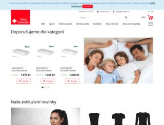 obchod.teplodomova.cz screenshot