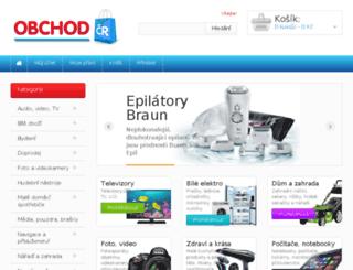 obchodcr.cz screenshot