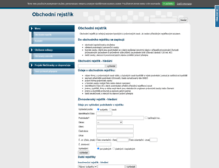 obchodni-rejstrik.info screenshot