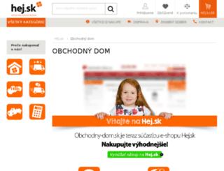 obchodny-dom.sk screenshot