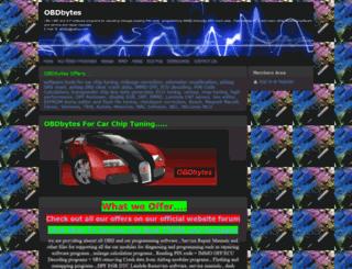 obdbytes.webs.com screenshot