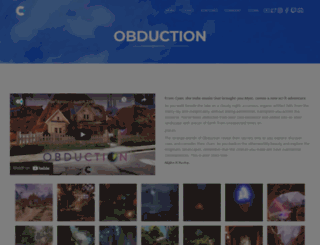 obductiongame.com screenshot