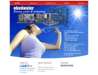 obedwater.com screenshot