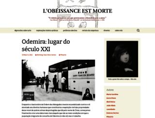 obeissancemorte.wordpress.com screenshot